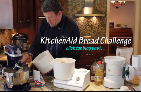 KitchenAid Mixer Bread Challenge with WonderMix Stand Mixer
