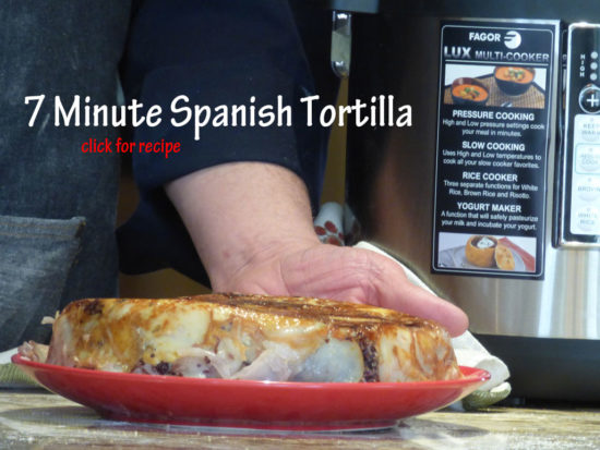 7-Minute Spanish Tortilla