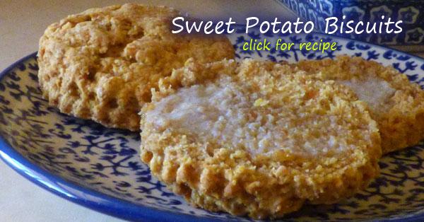 Sweet Potato Spelt Biscuit recipe