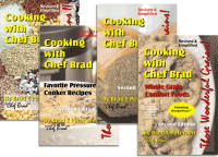 Chef Brad Cook Books