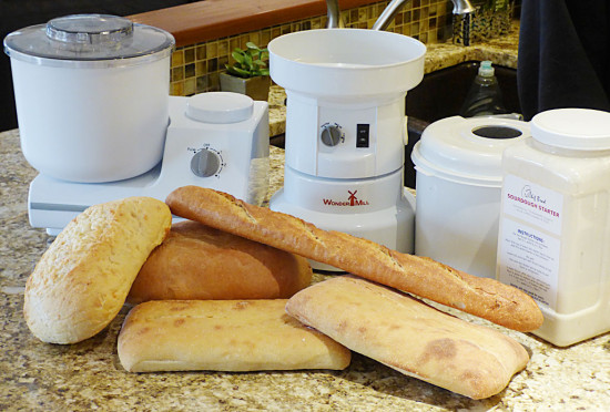 sourdough-starter-with-mill-mixer-bread