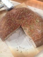Flaxseed Rustic Bread