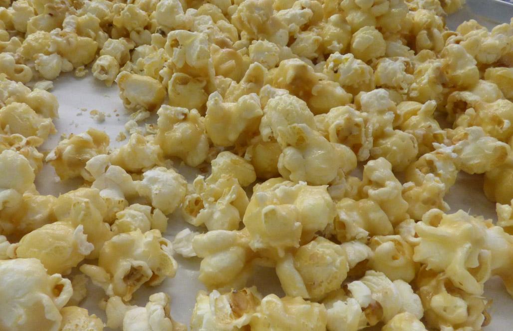 Chef Brad's Holiday Caramel Popcorn