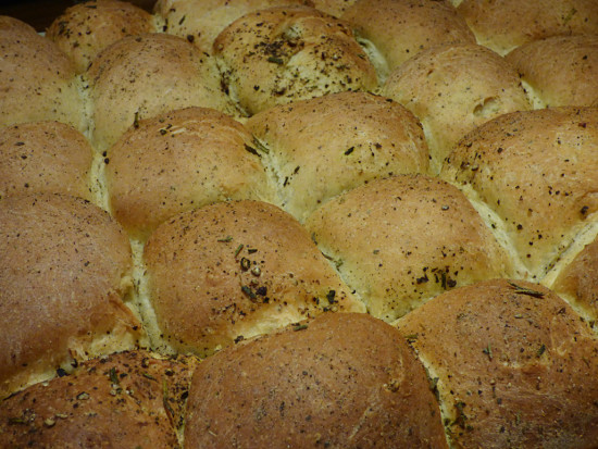 rosemary-pepper-rolls-in-oven