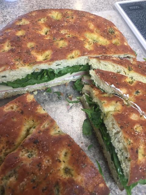 Sour Dough Spinach Bread