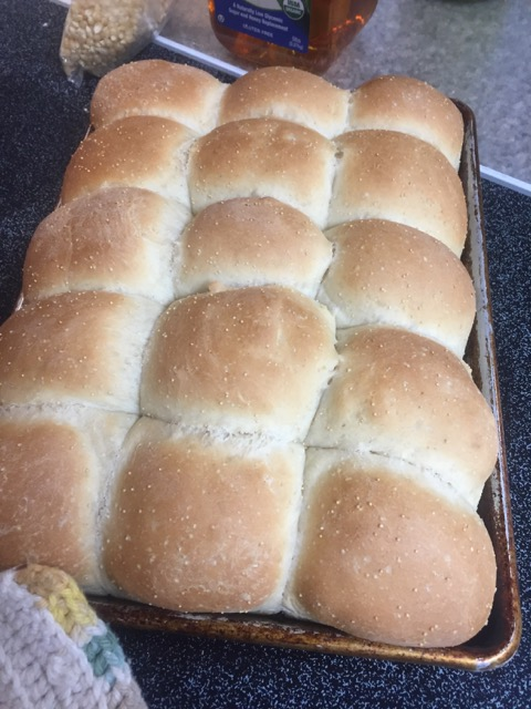 Amaranth Potato Sourdough Dinner Rolls (Pantry Members)