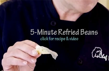 5-Minute Re-Fried Beans Recipe & Video