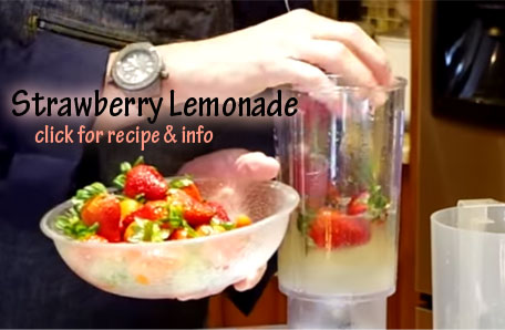 Strawberry Lemonade recipe and video