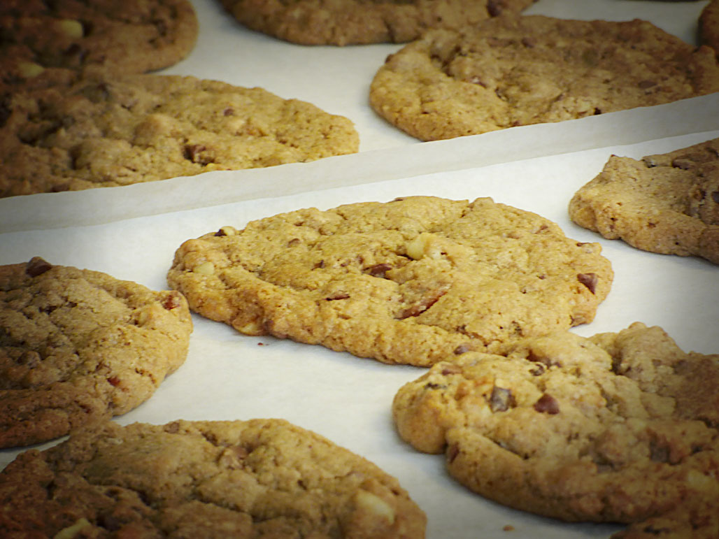 Toffee Bacon Cookies (Pantry Members)