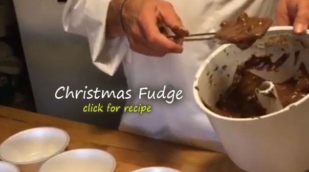 Christmas Toffee Nut Fudge recipe
