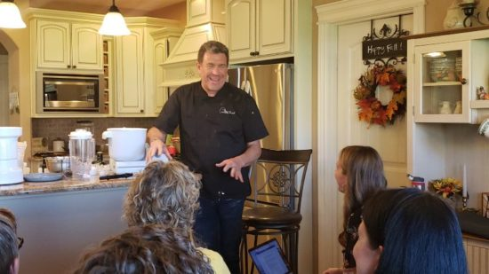 Cooking Classes with Chef Brad