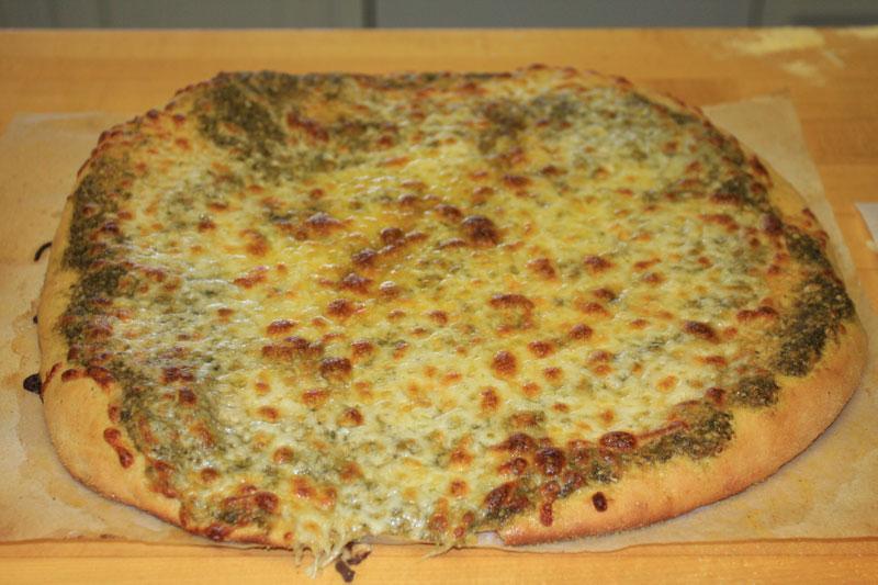 Feta Sourdough Flat Bread