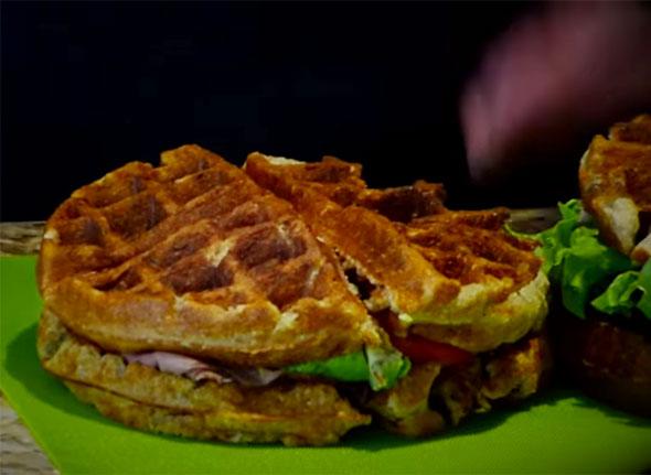 Gluten-Free Waffle Sandwiches