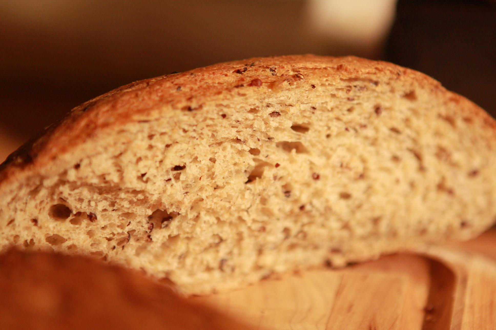 Sour Dough Black Quinoa Bread