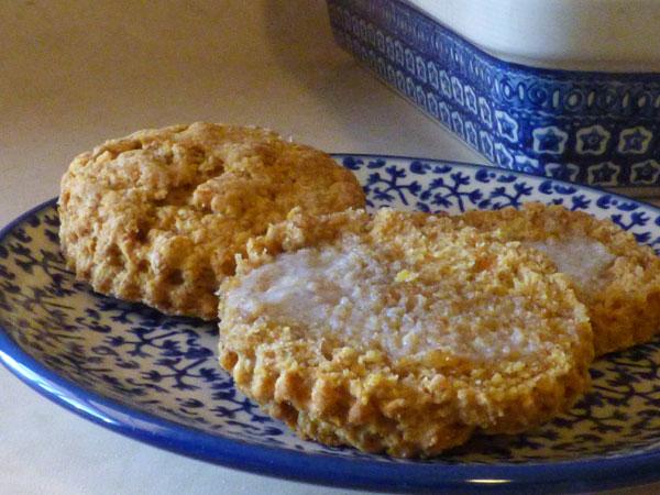 Sweet Potato Spelt Biscuit