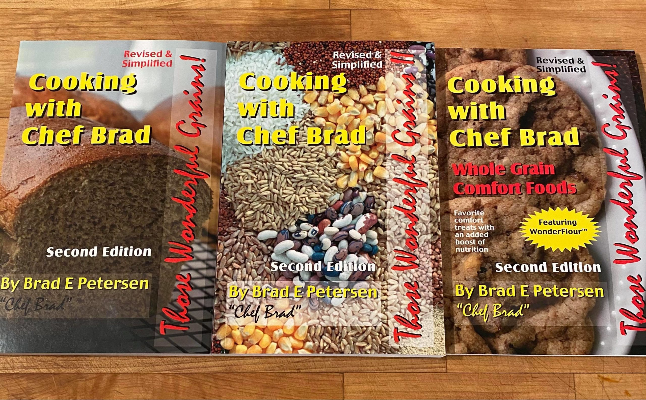 Chef Brad Cookbooks