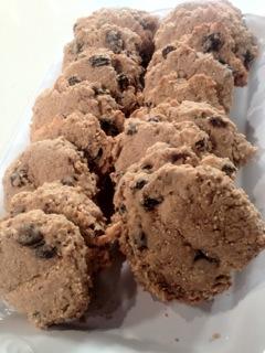 Amaranth Oatmeal Cookies, Grannies