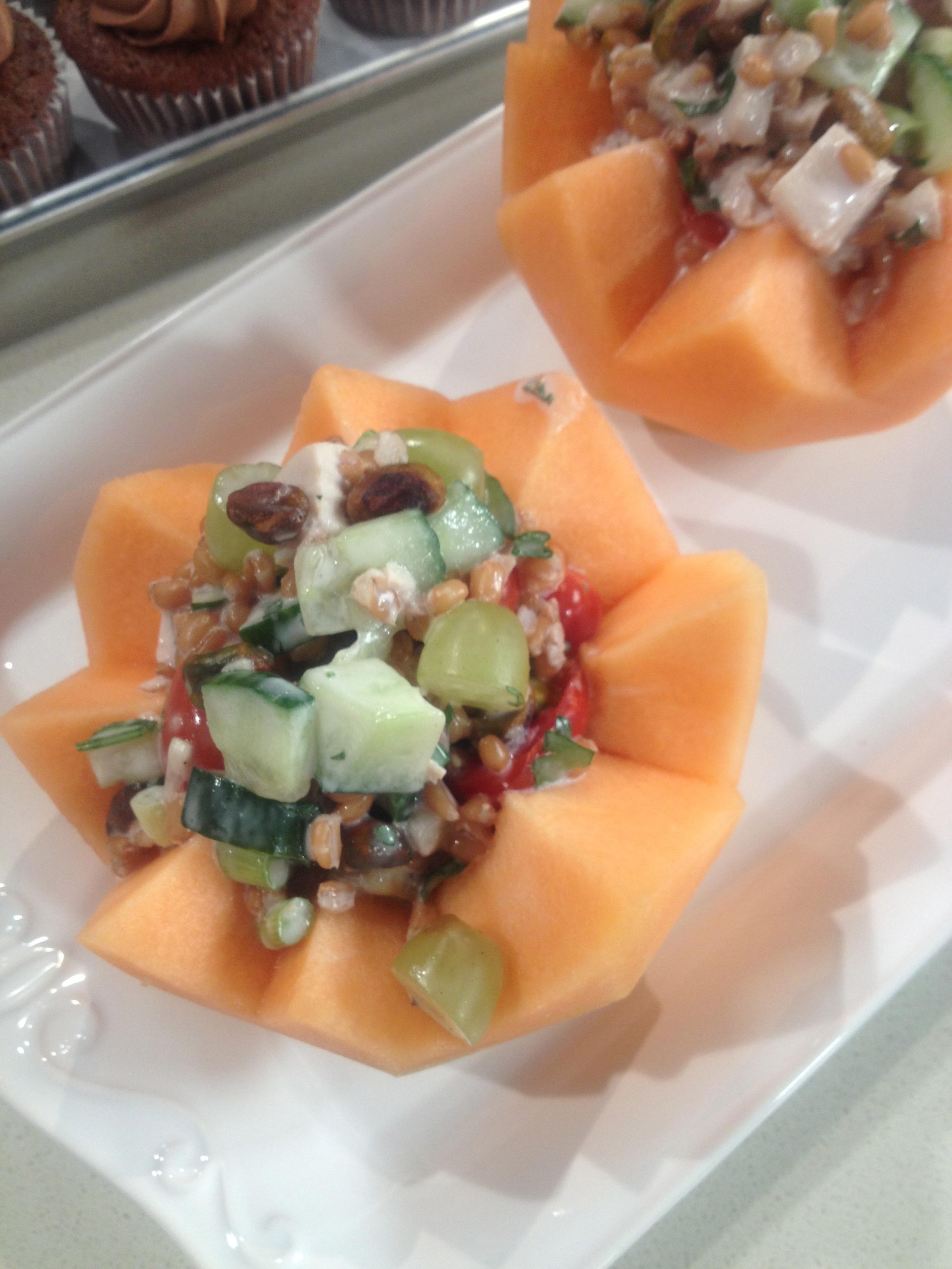 Red Quinoa Chicken Salad