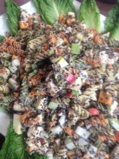 Black Quinoa Pasta Salad